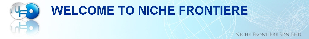 WELCOME TO NICHE FRONTIERE